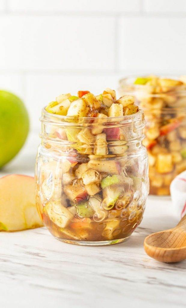 Healthy Apple Pie Filling with Dates